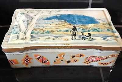 Allen's Vintage Peter Pan Toffee 'Walkabout' Australian Collectable Lolly Tin