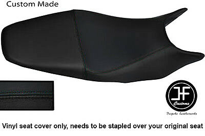 Black Vinyl Custom For Honda Hornet Cb 600 98-01 Dual Seat Cover Only