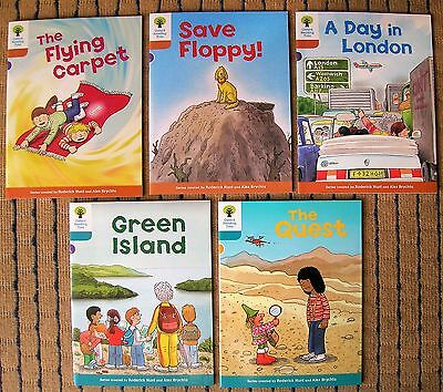 OXFORD READING TREE X 5 Brand New Books( STAGE 8/9 ) 1ST CLASS POST