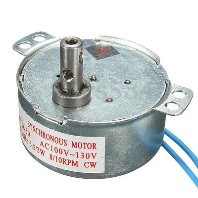 Synchronous Motor 8/10RPM CW/CCW TYD-50 AC 110V 3W Low Noise Robust Torque Motor