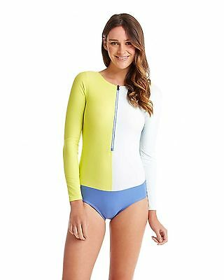 NEW ROXY™  Ladies High Line Rash Vest Springsuit Womens Rashvest Rashsuit