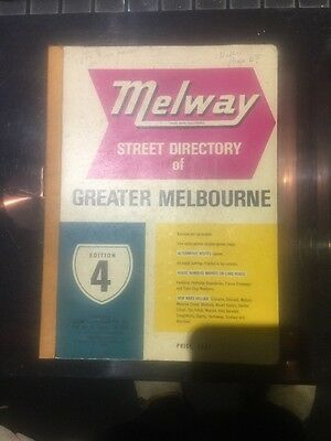 Melway Street Directory Edition Four
