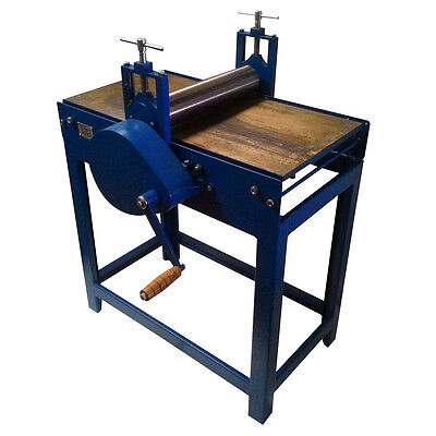 Ravi : Etching Press : Floor Model : Metal Bed : Bed Size 18x36in : With 3mm Fel