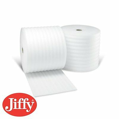 JIFFY FOAM WRAP x 2 Rolls of 750 mm x 200 M x 1.5 mm  Underlay Packaging 24h Del