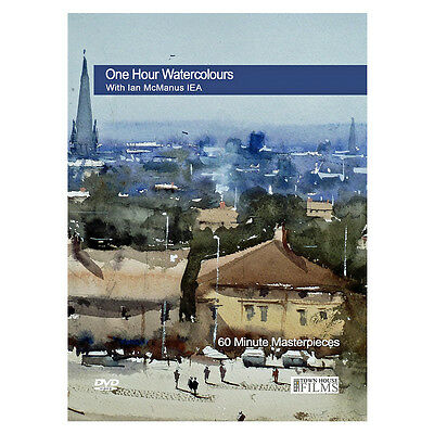 Townhouse DVD : One Hour Watercolours : With Ian McManus