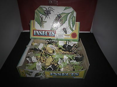 Pocket money toys party bag fillers large plastic model insects