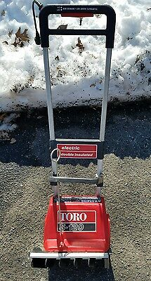 Toro Model S-120 Electric Snow Thrower