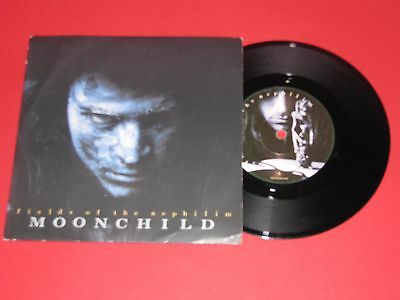 "Field Of The Nephilim # Moonchild # 7"" Vinyl Single"