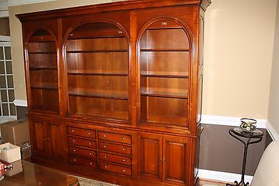 buffet, sideboard, china cabinet French made BEAUTIFUL all hardwoods