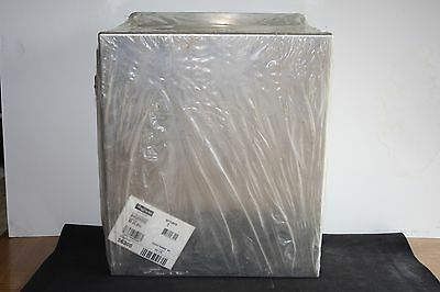 New Hoffman A1412CHNFSS6 Junction Box Stainless Steel 14 x 12 x 6