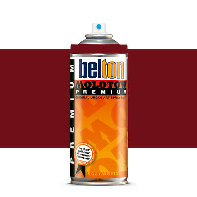 Molotow : Belton Premium Spray Paint : 400ml : Burgundy 019 : By Road Parcel Onl