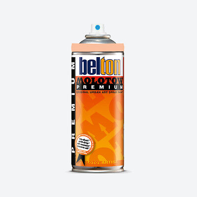 Molotow : Belton Premium Spray Paint : 400ml : Peach Light 024 : By Road Parcel