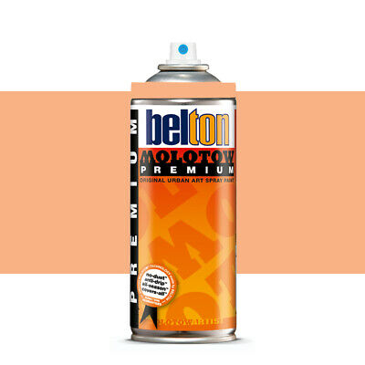 Molotow : Belton Premium Spray Paint : 400ml : Peach 025 : By Road Parcel Only