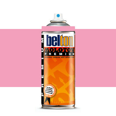 Molotow : Belton Premium Spray Paint : 400ml : Piglet Pink 052 : By Road Parcel