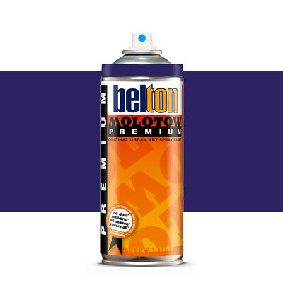 Molotow : Belton Premium Spray Paint : 400ml : Purple Velvet 082 : By Road Parce
