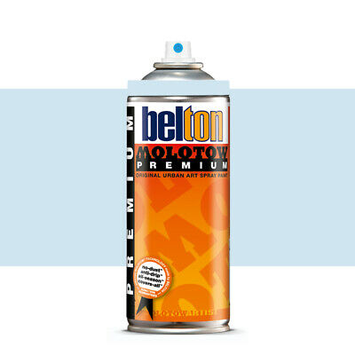 Molotow : Belton Premium Spray Paint : 400ml : Azure Blue Light 089 : By Road Pa