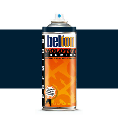 Molotow : Belton Premium Spray Paint : 400ml : Deep-Sea Blue Dark 109 : By Road