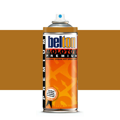 Molotow : Belton Premium Spray Paint : 400ml : Ochre Brown 198 : By Road Parcel