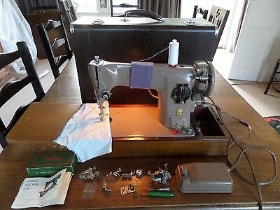singer 201k sewing machine. Tough, good case, condition and works well