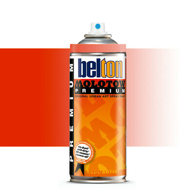 Molotow : Belton Premium Spray Paint : 400ml : Traffic Red Transparent 239