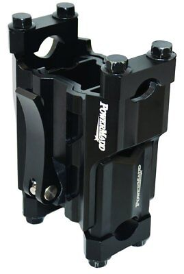 Powermadd Adjustable Height Pivot 4-6 IN Snowmobile Riser Black Universal 45591