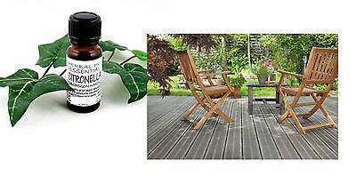 100ml Citronella Pure Essential Oil Insect Bug Midge Bite Summer BBQ Picnic Deck