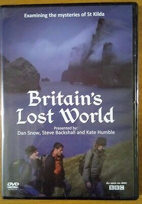 Britain's Lost World - Story Of St. Kilda (DVD, 2010) NEW Free Postage Gift Idea