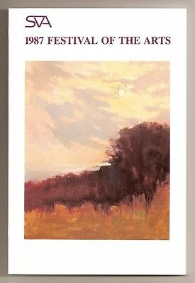 1987 Southern Vermont Artists Festival Of The Arts Catalog Book