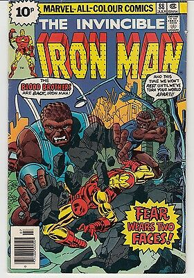 Marvel Comics The Invincible Iron Man Vol. 1 #88 - #91 (4 Issues)  UK Edition.