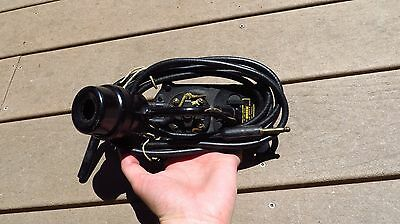 WW2 US Army Military Signal Corps Head & Chest Set Microphone H-25-A NICE