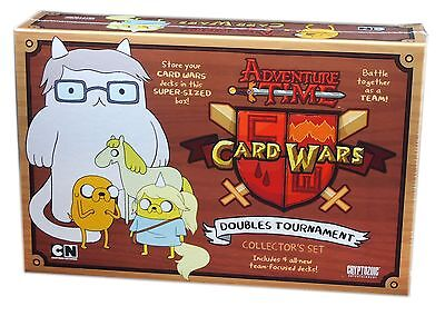Cryptozoic Games Adventure time Card Wars LCG, Double Tournament Collector's set