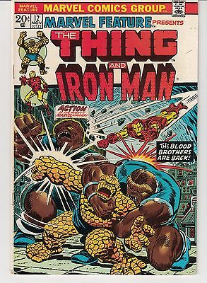 Marvel Feature #12 The Thing And Iron Man - Thanos, Blood Brothers
