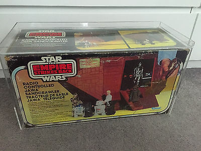 STAR WARS vintage Canadian Special Offer Radio Controlled Sandcrawler UNUSED