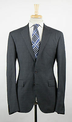 New. POLO RALPH LAUREN Gray Wool 2 Button Suit Size 50/40 R $1095