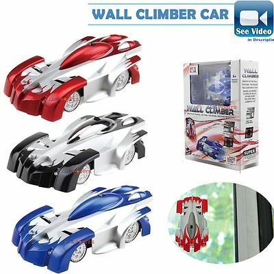 Remote Controller RC Zero Gravity Wall Climber Car Anywhere Floors Wall UK Toys