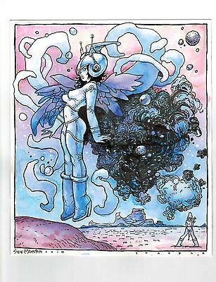 Space Girl by Steve Mannion