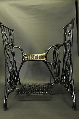 Singer Treadle Sewing Machine Cast Iron Base Stand