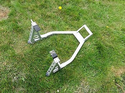 Heavy Duty Universal Aluminium Box Section Rear Paddock Stand Motorcycle
