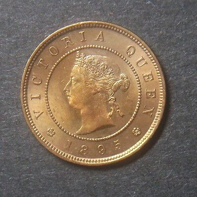 1895 Jamaica Farthing 1/4 Penny, KM#15, very nice coin!