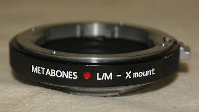Metabones Leica M To Fuji X Mount Adapter Mint 7279