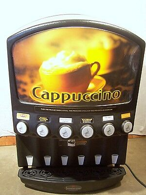 Grindmaster 6 Flavor Cappuccino Machine PIC6 -Gas Station- Commercial