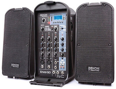 Denon Envoi GO Portable AC/Battery-Powered PA System-NEW!-Questions?877-640-8205