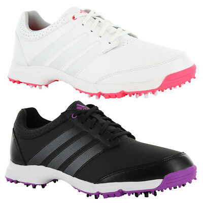 NEW Adidas Womens Response Light Golf Shoes White / Silver / Red - Choose Size!