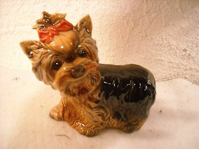 "chien yorkshire en porcelaine de Goebel W.Germany ""41/3035/75"""