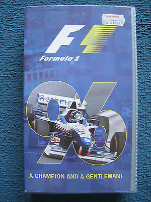 FIA Official Formula 1 F1 1996 Season review video VHS - Damon Hill - VGC