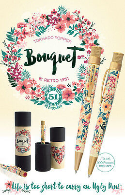 Retro 51 Bouquet Tornado Popper LE RB Pen -Great Holiday & Birthday Gift!-SEALED