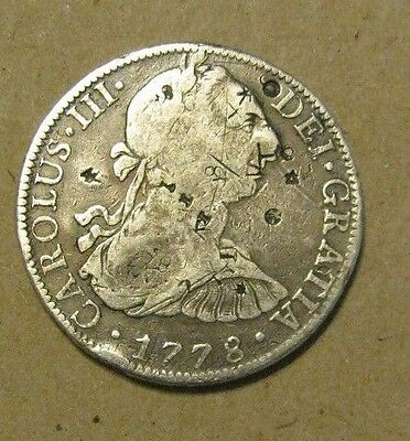 Mexico 8 Reales 1778  Scarce Amazing Details