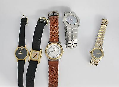 Watch Lot, Heuer and Ebel Watches, Ladies Watch, High End Estate