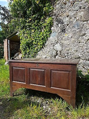 oak coffer antique