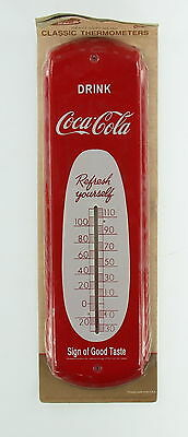 New COKE Coca Cola Drink Heavy Duty Metal Classic Thermometers
